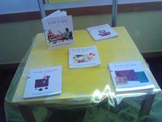 Pormenor da mesa do autor do mês. Fevereiro 2012