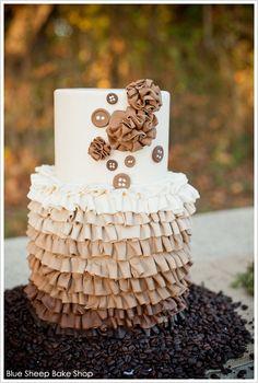 Pumpkin Spice Latte Cake  | by Blue Sheep Bake Shop  |  TheCakeBlog.com