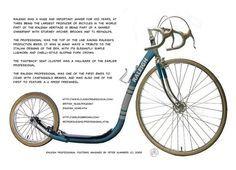 Old skool kick bike