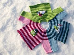 Buddy Sweaters {includes 3 variations} by annypurls - free
