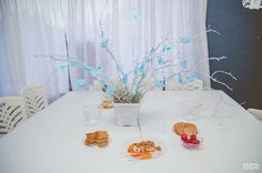 Blue decoration Baby shower theme