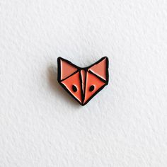 Reynard the Fox - Soft Enamel Pin - Lapel Pin - Fox Pin