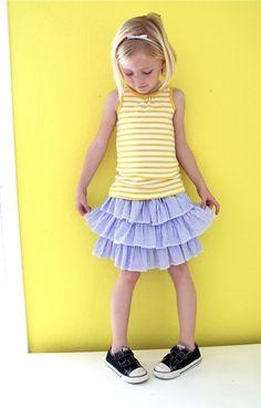 TUTORIAL: the Layered Skirt | MADE