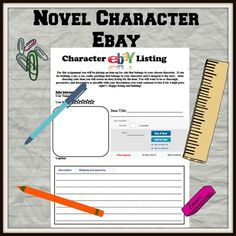 Character eBay listing. What would the character list on eBay? Katniss might auction off the boy and arrow she used in The Hunger Games...too many difficult memories tied to that object.