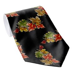 Shopping for customizable Foliage ties is easy on Zazzle. Browse through our thousands of designs or design your own necktie. Custom Ties, Unique Image, Autumn Leaves, Night Out, Create Your Own, Vibrant, Stylish, Fabric, Pattern