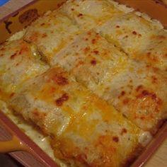 - Chicken Alfredo Roll-ups
