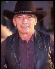 James Drury-In his 80s and STILL  a handsome COWBOY!