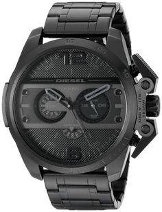 Diesel Men's DZ4362 Ironside Black Ion-Plated Stainless Steel Watch