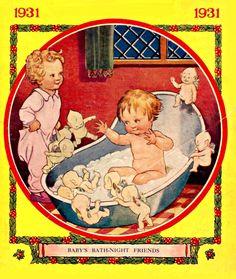 baby bath time fairies