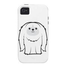 Pekingese Dog Cartoon Case-Mate iPhone 4 Case