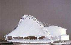 ArchitectureWeek Image - Tensile Pavilion in Boston
