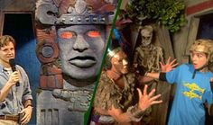 Go behind the classic Nickelodeon game show 'Legend of the Hidden Temple' with some help from former host Kirk Fogg.