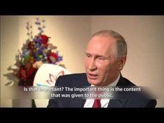 Putin: No idea who hacked US Democratic Party on cjn news