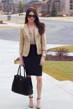 Chic Professional Woman Work Outfit. business casual attire for women update business casual attire for women 2012 – E Fashion Help