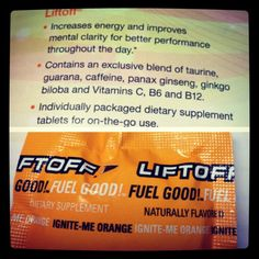 herbalife liftoff energy. I love this stuff in the mornings to give me that extra kick!  goherbalife.com/parmelee