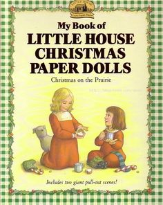 Little House Christmas - Laura, Mary, Ma, Baby Carrie, Jack, Pa, Mr. Edwards, & Santa Claus - (CL for 8 dolls & clothes) #P-1-19