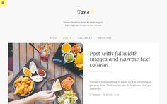 tone wordpress theme