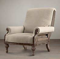 Deconstructed English Club Chair | Chairs | Restoration Hardware