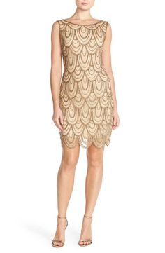 Shop a great selection of Pisarro Nights Embellished Mesh Sheath Dress (Regular & Petite). Find new offer and Similar products for Pisarro Nights Embellished Mesh Sheath Dress (Regular & Petite). Petite Cocktail Dresses, Gold Cocktail Dress, Womens Cocktail Dresses, Champagne Dress, Embellished Dress, Sequin Dress, Sequin Jeans, Sequin Shoes, Lace Dress