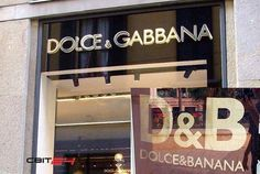 Dolce & Banana in China -- EPIC FAIL!! Stop trying!!!