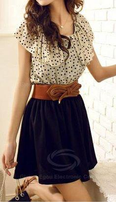 Retro Style Dress.  dresslily.com