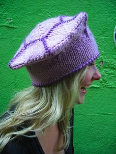 Free Knitting Pattern - Hats: Hexed Hat
