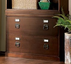 Bedford Lateral File Cabinet   Pottery Barn