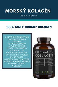 100% čistý hydrolyzovaný kolagén pre vaše kĺby, kosti, zuby, pleť... Máte už ten svoj? The 100, Container, Health, Food, Salud, Meal, Health Care, Essen, Hoods