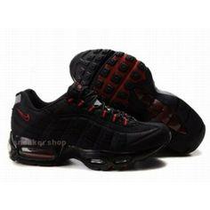 #Nike #sports Nike Shox Shoes, Nike Womens Shoes Buy Nike Air Max 95 Womens Black Red 69