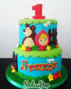 Birthday Cake, Instagram Posts, Desserts, Food, Masha And The Bear, The Creation, Sweets, Tailgate Desserts, Deserts
