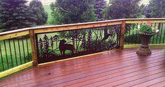 Beautiful Deck Railing