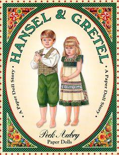 Hansel & Gretel Paper Dolls / Peck-Aubry   Bobe Green - Picasa Web Albums