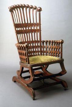 George Hunzinger Designer George Hunzinger and Son Maker Rocking chair