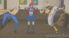 Fairy Tail- gif part 3 I love erza Fairy Tail Tumblr, Fairy Tail Funny, Fairy Tail Ships, Fairy Tail Anime, Fairytail, Nalu, Erza Scarlet, I Love Anime, Awesome Anime