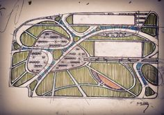 #landscape #design #sketch #landscapearchitecture  #drawing #project #urbandesign