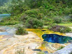 Orakei Korako is hidden valley attraction