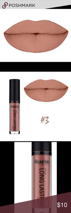 Moisturizing Waterproof Matte Long Lasting Lippie Moisturizing Waterproof Matte Long Lasting Lipgloss. Gorgeous color #4 Makeup