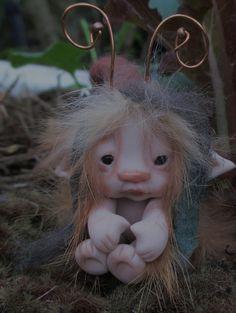 fairy bug ooak by throughthemagicdoor on etsy.com