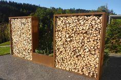 Bild von Holzlager K - oben, seitlich und hinten geschlossen