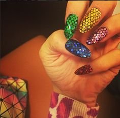 Nail Art of Lily Allen