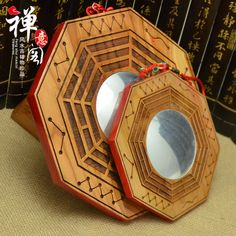 I was pleased to discover these lovely bagua mirrors. I recommend then for use on one of the rare (but serious) occasions when a bagua mirror is called for within a home.