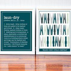Laundry Room Custom Prints - PrintChicks
