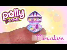 Miniature Polly Pocket Tutorial // DIY Miniature Dollhouse - YouTube