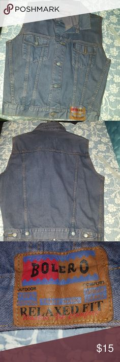 Vest Blue Jean vest I'm great condition worn a few times only. Bolero Other
