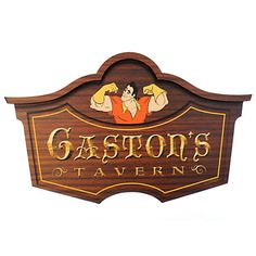Gaston's Tavern Wall Sign - Walt Disney World | Disney Store