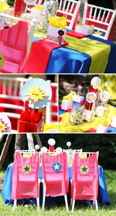 Superhero Birthday Party (Damask Love)