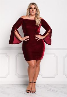 Women S Plus Size Dresses And Suits Refferal: 2382012229 Plus Size Looks, Curvy Plus Size, Plus Size Women, Plus Size Dresses, Plus Size Outfits, Nice Dresses, Halter Dresses, Dressy Dresses, Fall Dresses
