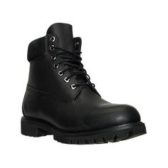 Timberland Men's 6 Inch Classic Boots ($190) ❤ liked on Polyvore featuring men's fashion, men's shoes, men's boots, men's work boots, black, mens waterproof boots, mens work boots, timberland mens boots, mens rugged boots and mens fur lined boots