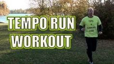 Tempo Run or Lactic Threshold Running Workout - YouTube