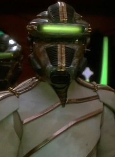 The Breen (Star Trek: DS9) They should have shown more episodes about these elusive aliens with refridgerated suits.